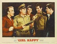 Girl Happy - 11 x 14 Movie Poster - Style B