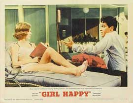 Girl Happy - 11 x 14 Movie Poster - Style E