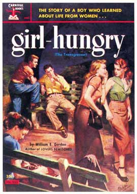 Girl Hungry - 11 x 17 Retro Book Cover Poster