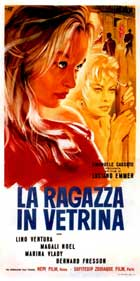 Girl in the Window - 13 x 28 Movie Poster - Italian Style A