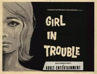 Girl In Trouble - 22 x 28 Movie Poster - Half Sheet Style A