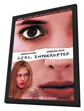 Girl, Interrupted - 11 x 17 Movie Poster - Style A - in Deluxe Wood Frame