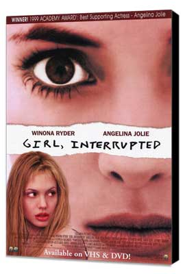 Girl, Interrupted - 11 x 17 Movie Poster - Style A - Museum Wrapped Canvas