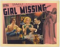 Girl Missing - 11 x 14 Movie Poster - Style C