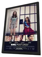 Girl Most Likely - 27 x 40 Movie Poster - Style A - in Deluxe Wood Frame