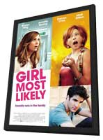 Girl Most Likely - 11 x 17 Movie Poster - Style B - in Deluxe Wood Frame