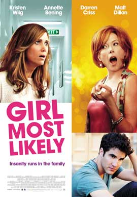 Girl Most Likely - 11 x 17 Movie Poster - Style B