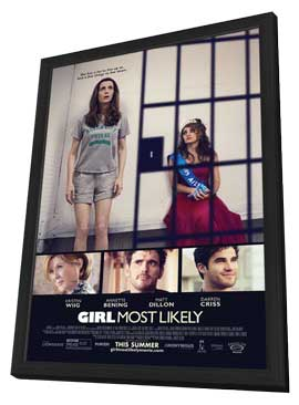 Girl Most Likely - 11 x 17 Movie Poster - Style A - in Deluxe Wood Frame