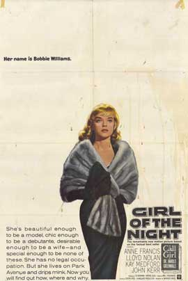Girl of the Night - 11 x 17 Movie Poster - Style A