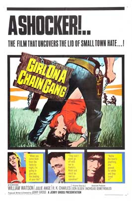 Girl on a Chain Gang - 11 x 17 Movie Poster - Style B