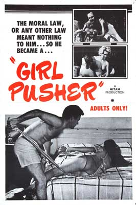 Girl Pusher - 11 x 17 Movie Poster - Style A