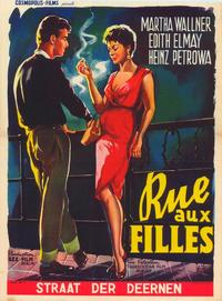 Girl Street - 27 x 40 Movie Poster - Belgian Style A