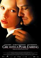 Girl with a Pearl Earring - 11 x 17 Movie Poster - UK Style A