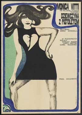 Girl with a Pistol - 27 x 40 Movie Poster - Polish Style A