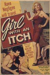 Girl with an Itch - 11 x 17 Movie Poster - Style A
