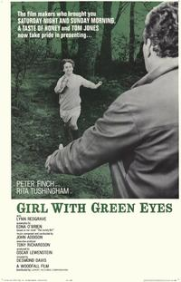 Girl with Green Eyes - 11 x 17 Movie Poster - Style A
