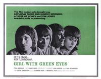 Girl with Green Eyes - 11 x 14 Movie Poster - Style A