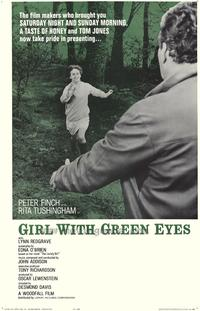 Girl with Green Eyes - 27 x 40 Movie Poster - Style A