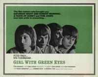 Girl with Green Eyes - 22 x 28 Movie Poster - Half Sheet Style A