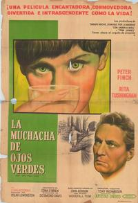 Girl with Green Eyes - 11 x 17 Movie Poster - Spanish Style A