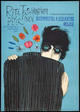 Girl with Green Eyes - 11 x 17 Movie Poster - Polish Style A
