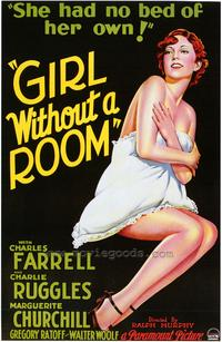 Girl Without a Room - 43 x 62 Movie Poster - Bus Shelter Style A