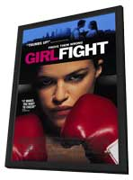 Girlfight - 11 x 17 Movie Poster - Style C - in Deluxe Wood Frame