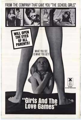 Girls and the Love Games - 27 x 40 Movie Poster - Style A