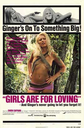 Girls Are for Loving - 11 x 17 Movie Poster - Style A