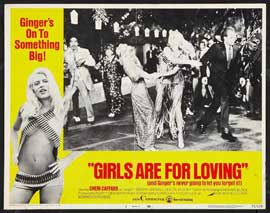 Girls Are for Loving - 11 x 17 Movie Poster - Style B
