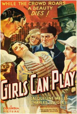 Girls Can Play - 27 x 40 Movie Poster - Style A