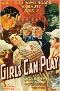 Girls Can Play - 43 x 62 Movie Poster - Bus Shelter Style A