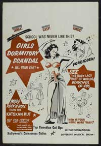 Girls Dormitory Scandal - 43 x 62 Movie Poster - Bus Shelter Style A