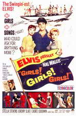 Girls! Girls! Girls! - 11 x 17 Movie Poster - Style A