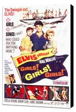 Girls! Girls! Girls! - 11 x 17 Movie Poster - Style A - Museum Wrapped Canvas
