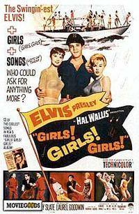 Girls! Girls! Girls! - 43 x 62 Movie Poster - Bus Shelter Style A