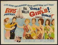 Girls! Girls! Girls! - 30 x 40 Movie Poster - Style A