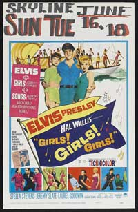 Girls! Girls! Girls! - 11 x 17 Movie Poster - Style B