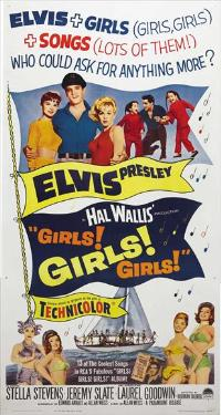 Girls! Girls! Girls! - 20 x 40 Movie Poster - Style A