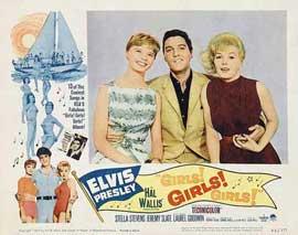 Girls! Girls! Girls! - 11 x 14 Movie Poster - Style G