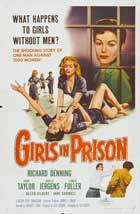 Girls in Prison - 11 x 17 Movie Poster - Style B