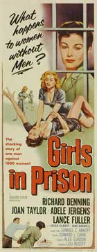 Girls in Prison - 14 x 36 Movie Poster - Insert Style A