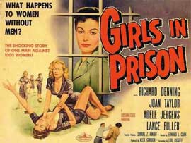 Girls in Prison - 11 x 17 Movie Poster - Style A