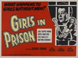 Girls in Prison - 30 x 40 Movie Poster UK - Style A