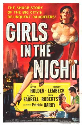 Girls in the Night - 27 x 40 Movie Poster - Style B