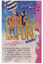 Girls Just Want to Have Fun - 27 x 40 Movie Poster - Style A