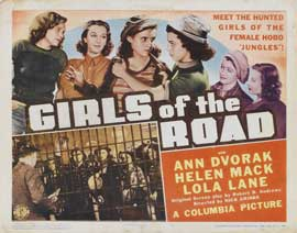 Girls of the Road - 11 x 14 Movie Poster - Style A