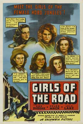 Girls of the Road - 11 x 17 Movie Poster - Style A