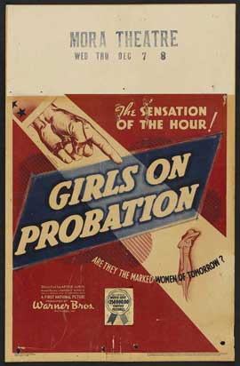 Girls on Probation - 11 x 17 Movie Poster - Style A