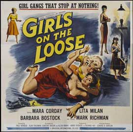 Girls on the Loose - 11 x 14 Movie Poster - Style A